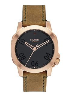 4cce53fb354 Nixon A471-1890 · Brown LeatherLeather MenMens Watches ...