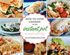 A series on cooking meats for the freezer in the instant pot including videos, freezing tips and links to lots of recipes to make dinner quick & tasty!