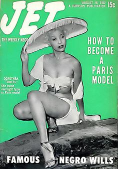 Dorothea Towles, Black Model - Jet Magazine, August 28, 19… | Flickr