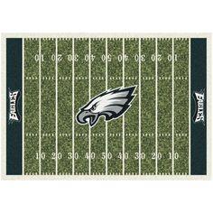 "Philadelphia Eagles 46"" x 64"" Homefield Rug"