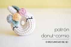 O Recuncho de Jei: Patrón Donut-cornio