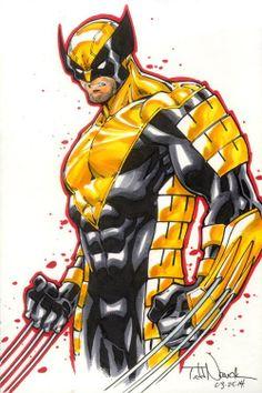 Wolverine by Todd Nauck Comic Art