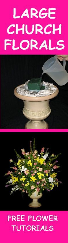 Flowers for a Wedding - Easy Step by Step Flower Tutorials  Learn how to make bridal bouquets, wedding corsages, groom boutonnieres, church decorations and reception table centerpieces.  Buy wholesale flowers and discount florist supplies.
