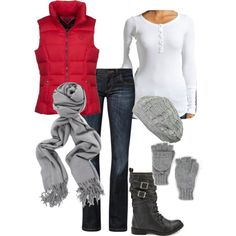 A fashion look from February 2013 featuring Splendid tops, Tommy Hilfiger vests and CROSS Jeanswear jeans. Browse and shop related looks.