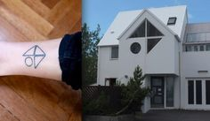 Your Childhood Home | 43 Rad Tattoos To Pay Tribute To Your Favorite Place