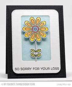 Doodled Blooms Card Kit, Blueprints 32 Die-namics, Blueprints 30 Die-namics, Blueprints 13 Die-namics - Jody Morrow  #mftstamps