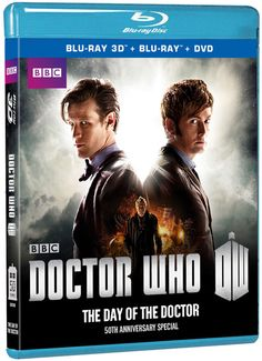 Doctor Who: 50th Anniversary Special: The Day of the Doctor (3D+BD+DVD combo)