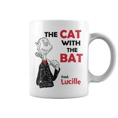 I Love The Cat With The Bat And Lucille Mug T-Shirts