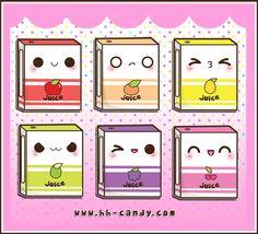 Sweet Juice Boxes by A-Little-Kitty.deviantart.com on @deviantART
