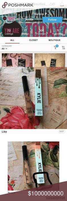 🚨🚨PREVIOUSLY BANNED-REPORT THIS POSHER🚨🚨 Report this posher right away! They are the Posher previously known as @knorthcosmetics! They are selling fake cosmetics and telling people they are authentic! They currently have Literally, So Cute, Exposed, and Like that the box says is a metallic matte which is not available on Kylie's website. Please report!! Kylie Cosmetics Makeup