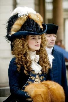 The Duchess, a movie about Georgianna, the Duchess of Devonshire. Keira Knightly plays Georgianna