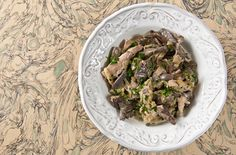 A recipe for a French-inspired dish of pheasant breast, mushrooms, cream and brandy - a delicious comfort food for a cold night. Serve with bread or noodles.