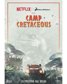 #JurassicWorld #CampCretaceous Jurassic Movies, Fan Poster, Spinosaurus, Jurassic Park World, Next Week, Animation Series, New Series, Dreamworks, Teaser