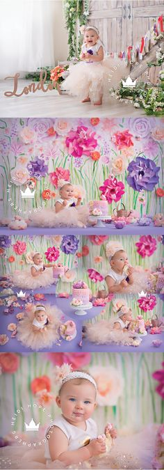 Blog | Heidi Hope Photography Theme: Our Little Bud Has Blossomed #firstbirthday #london1st #londonalivia