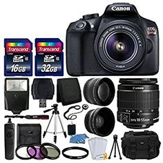 Photo4Less Top Value Camera And Lens  and manufacturer's supplied Accessories Kit
