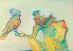 maria lassnig paintings | Maria Lassnig habich auch total gerne. Ihre Art wie sie mit den Farben ...