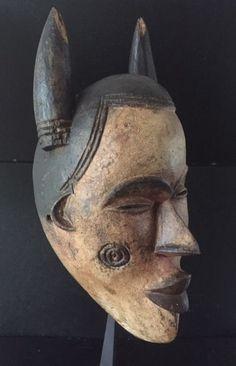 Afrikaans houten masker van de IGBO tribe - Nigeria - Catawiki