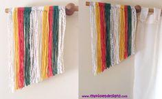 Decoraciones con lanas My Violet :D myvioletdesigns.com
