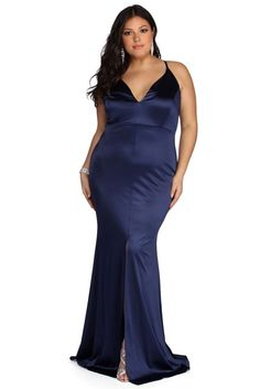 Flaunt it in plus-size dresses from casual to formal plus dresses & gowns for spring. Windsor also carries plus size shapewear, petals & pasties. Plus Size Gowns, Evening Dresses Plus Size, Plus Size Dresses, Plus Size Outfits, Nice Dresses, Short Dresses, Amazing Dresses, Formal Dresses, Floral Applique Dress