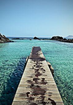 Todos queriendo ir al #Caribe y tenemos aquí #Fuerteventura un paraíso increíble.  Isla de Lobos