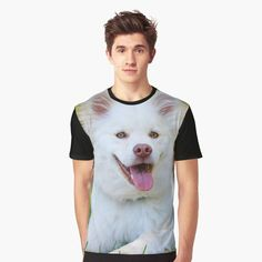 'Samoyed Doggo' Graphic T-Shirt by sgnificantstyle Samoyed, Animal, T Shirt, Clothes, Women, Style, Fashion, Supreme T Shirt, Outfits