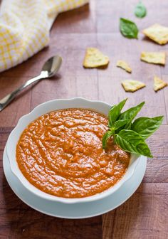 Skinny Roasted Red Pepper Parmesan Dip-Disappears at parties!