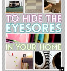 17 Creative Ways to Hide the Eyesores in Your Home | Creative ...