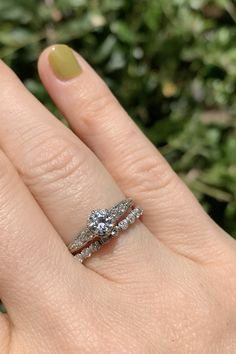 Antique old European cut diamond wedding band By Erstwhile Antique Wedding Bands, Diamond Wedding Bands, Cool Wedding Rings, Wedding Jewelry, Fine Jewelry, Women Jewelry, Jewellery, Vintage Engagement Rings, Wedding Engagement