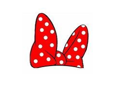 FREE Mickey Minnie Mouse Birthday Party Printables from - Clip Art Library Fotos Do Mickey Mouse, Mickey Mouse Photos, Red Minnie Mouse, Minnie Bow, Mickey Ears, Silhouette Minnie Mouse, Paw Print Clip Art, Minnie Mouse Birthday Theme, 3rd Birthday