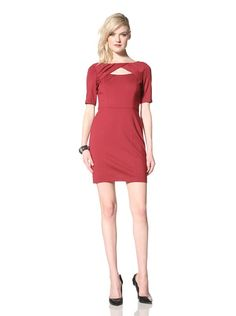 For you for grad? 55% OFF Cynthia Steffe Women's Parker Update Cutout Ponte Dress (Bordeaux)