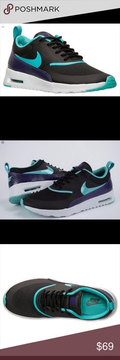 Nike Air Max Thea Premium Women's Shoes New without box. Size 8.5. Color:  Black/ Dusty Cactus/ Pure Platinum. Nike Shoes Athletic Shoes
