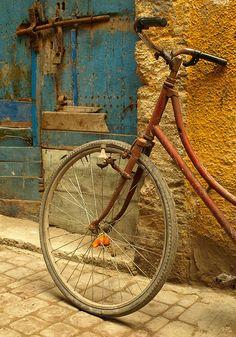 Door and Bike Essaouira Morocco Olga Irez