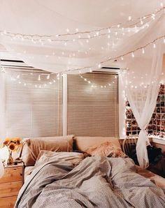 cozy fall bedroom decoration ideas 00050 - apartment wants - Cute Bedroom Ideas, Cute Room Decor, Dream Rooms, Dream Bedroom, Master Bedroom, Bedroom Décor, Girl Bedrooms, Fall Bedroom Decor, Bedroom Inspo