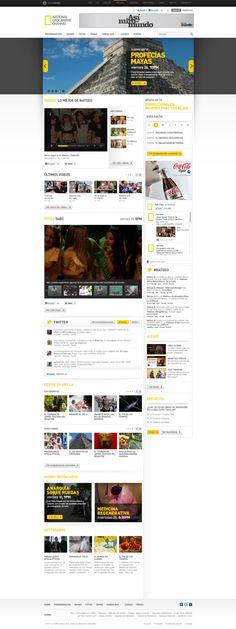 Nat Geo on Web Design Served