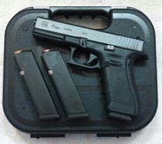 Glock 17 Gen 4 - Length: 7.95 in.,Width: 1.18 in, Length Between Sights: 6.49 in., Height: 5.43 in., Barrel Height: 1.26 in.,  Barrel Length: 4.48 in.