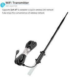 Buy Outdoor High Power Wireless USB External Antenna Networking Accessories Wifi Rocket at Wish - Shopping Made Fun Wifi, Camper, Usb, Cool Stuff, Outdoor, Accessories, Projects, Outdoors, Truck Camper