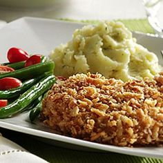 Ingredients   3   cups (6 ounces) FRENCH'S® Original or Cheddar French Fried Onions  3   tablespoons all-purpose flour  1   egg, beaten 6  1/2 inches thick bone-in or boneless pork chop…