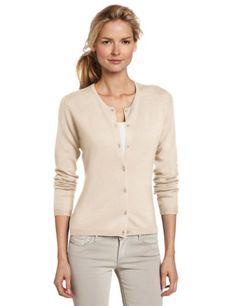 Sofie Women's 100% Cashmere Classic Cardigan Sweater