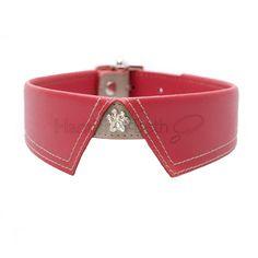 Savile Row Red Dog Collar