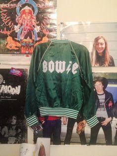 Green Bowie Jacket