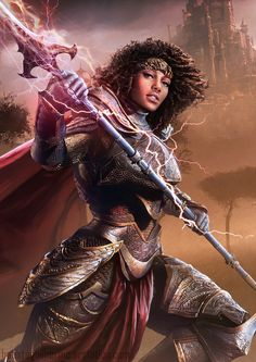 Tagged with art, fantasy, dnd, dungeons and dragons, fantasy art; Fantasy art dump - D&D Character Inspiration Black Characters, Fantasy Characters, Female Characters, Black Girl Art, Black Women Art, Character Portraits, Character Art, Dungeons And Dragons, Medieval Combat