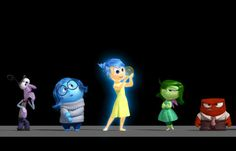 Fans have been anxiously anticipating Pixar's next film, Inside Out, which is due in theaters next summer. It was handed the baton to represent the studio's next film after Pixar decide… Disney Inside Out, Film Inside Out, Inside Out Trailer, Film Pixar, Pixar Movies, New Movies, Walt Disney, Disney Love, Disney Stuff