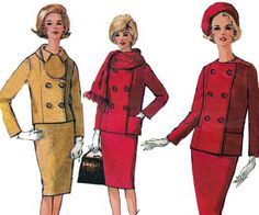1960s Skirt & Jacket Pattern Simplicity by allthepreciousthings, $8.00