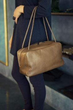 Square bag made of goat leather Leather Bag Design, Bowling Bags, Leather Bags Handmade, Best Bags, Tote Handbags, Bag Making, Leather Purses, Fashion Bags, Shoes