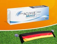 Gratis Fußball-WM Fanschal Acuvue Kontaktlinsen Lensspirit