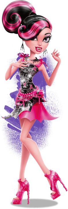 Freaky Just Got Fabulous™ Arte Monster High, Monster High Wiki, Festa Monster High, Monster High School, Monster High Characters, Monster High Birthday, Love Monster, Monster High Dolls, Desenhos Halloween