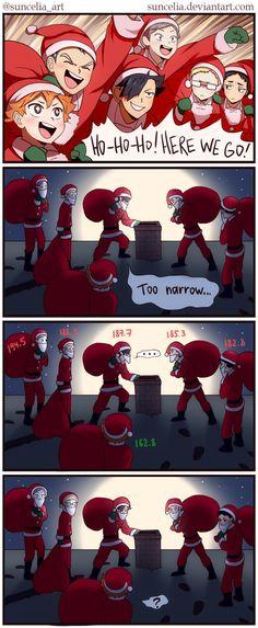 Haikyuu!! Christmas by Suncelia.deviantart.com on @DeviantArt