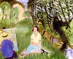 Seance by the River  Henri Matisse - 1923