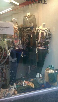 es una tienda de moda de ropa de mujer en la cual hay tallas desde la 38,,ampliando las tallas hasta la 60,,muy moderna y muyy asequible