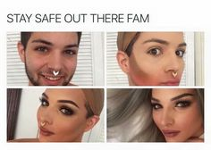 Well damn. He look better then most females who contour | Pinterest: @stylishchic14 ⇜✧≪∘∙✦♡✦∙∘≫✧⇝